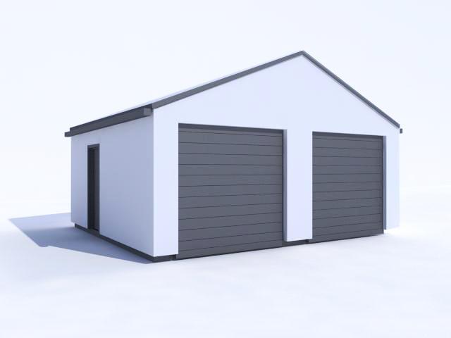 Zděná garáž projekt