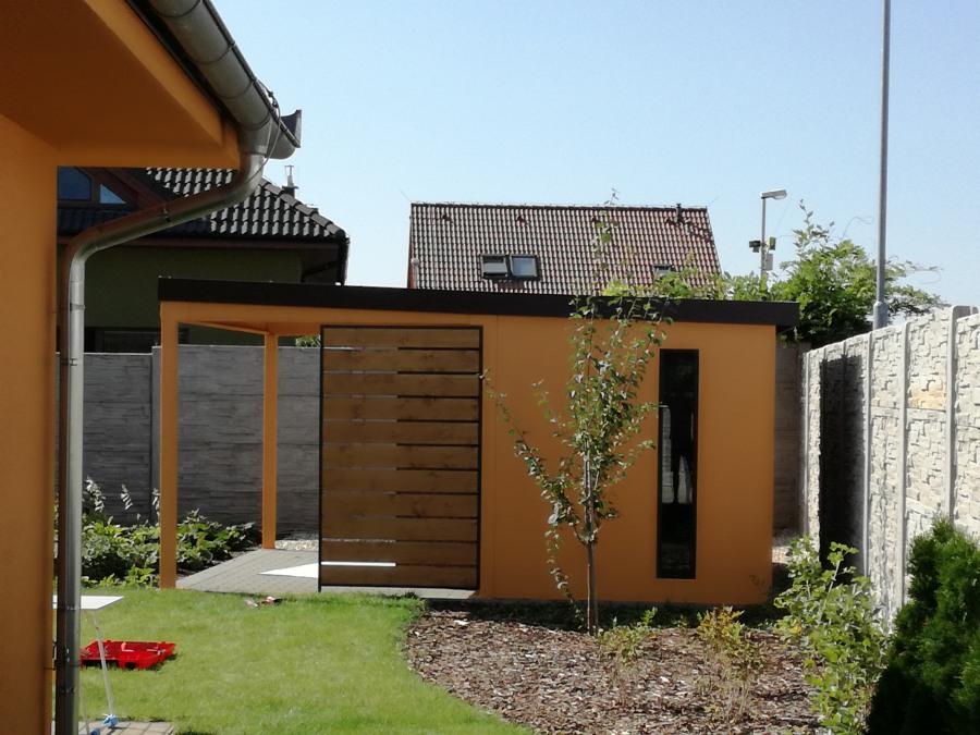 Montovaný zahradí domek - Brno 4