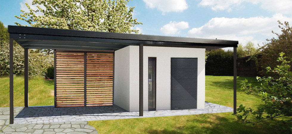 Montovaný zahradní domek - Ostrava